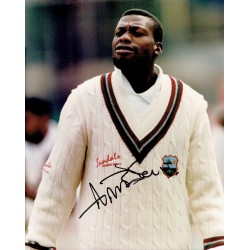Curtley Ambrose original authentic genuine signed photo
