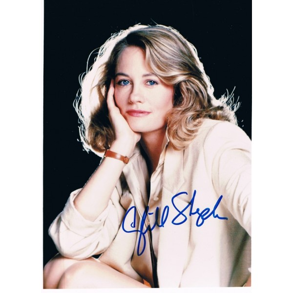 Cybill Shepherd original authentic genuine signed photo