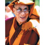 Dalai Lama  authentic genuine signed autographs photo