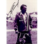 Dan Gurney genuine original authentic signed autograph photo