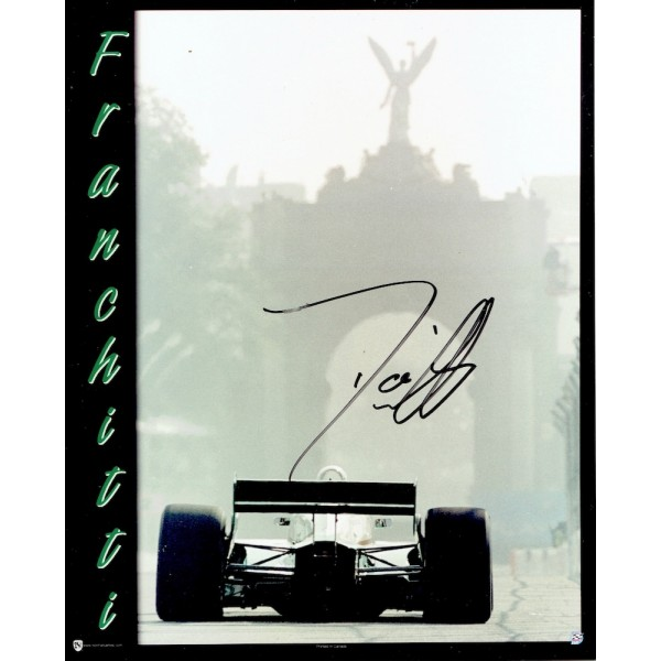 Dario Franchitti genuine original authentic signed autograph photo