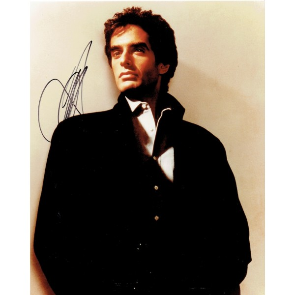 David Copperfield authentic signed genuine signature