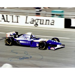 David Coulthard original authentic genuine signed autograph photo
