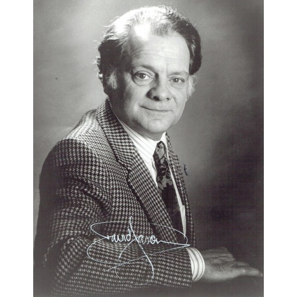 David Jason  authentic genuine autograph signed photo