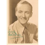 David  Niven original authentic genuine signed photo