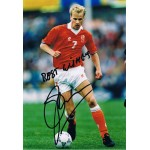 Denis Bergkamp signed authentic genuine signature