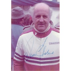 Denny Hulme  genuine signed original autograph photo