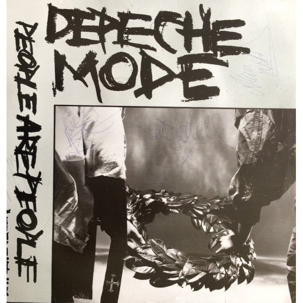 Depeche Mode  authentic genuine signed autographs record