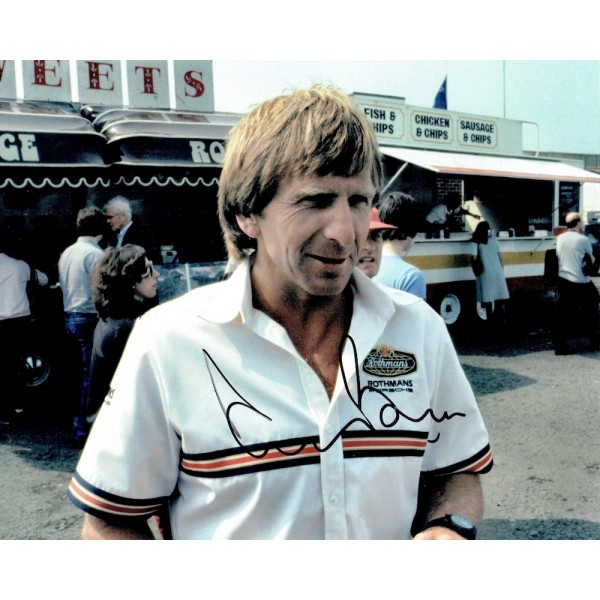 Derek Bell genuine original authentic signed autograph photo