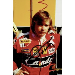 Didier Pironi authentic genuine signed autograph photo