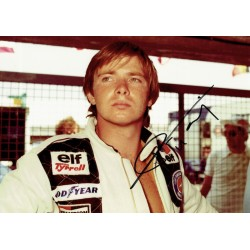 Didier Pironi signed authentic genuine signature