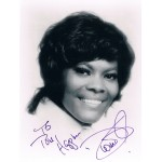 Dionne Warwick original authentic genuine signed photo