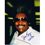 Don King signed authentic genuine signature