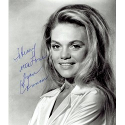 Dyan Cannon original authentic genuine signed photo