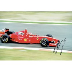 Eddie Irvine genuine original authentic signed autograph photo