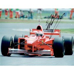 Eddie Irvine original authentic genuine signed autograph photo