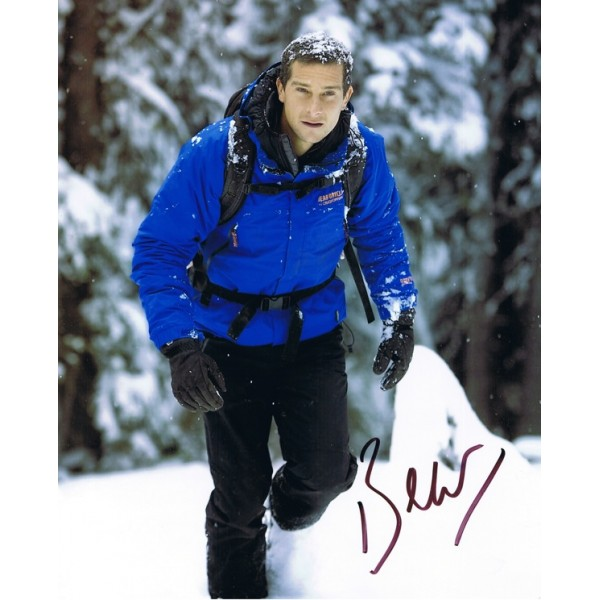 Edward (Bear) Grylls signed authentic genuine signature