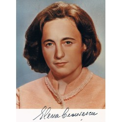 Elena Ceausescu  authentic genuine signed autographs photo