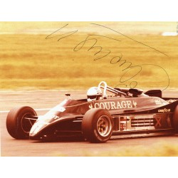 Elio  De Angelis original authentic genuine signed photo