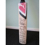 England Ashes Team 2011 genuine authentic signed autograph signatures bat