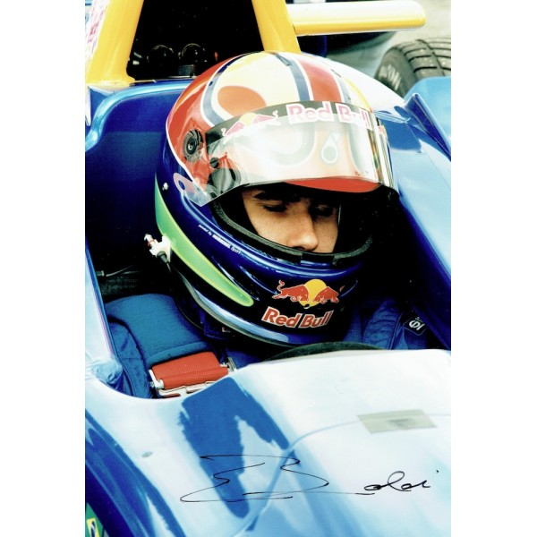 Enrique Bernoldi  original authentic genuine autograph signed photo