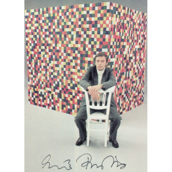 Erno Rubik authentic signed genuine signature