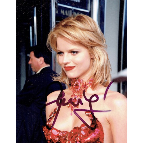 Eva Herzigova authentic signed genuine signature