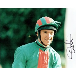 Frankie Dettori original authentic genuine signed photo