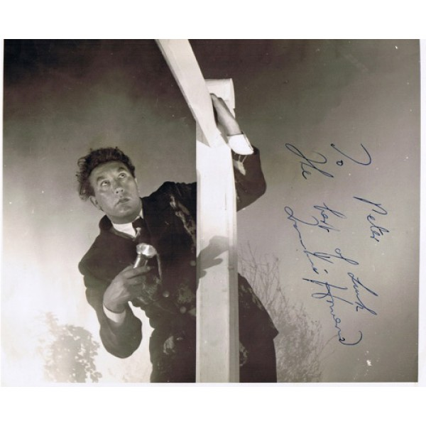 Frankie Howard signed authentic genuine signature