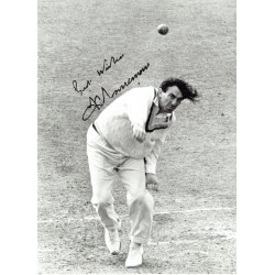 Fred Trueman original authentic genuine signed photo