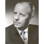 Fritz  Nallinger  genuine signed original autograph photo