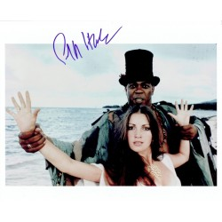 Geoffrey Holder  original authentic genuine autograph signed photo