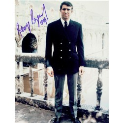 George Lazenby original authentic genuine signed photo