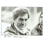George Segal  authentic genuine autograph signed photo