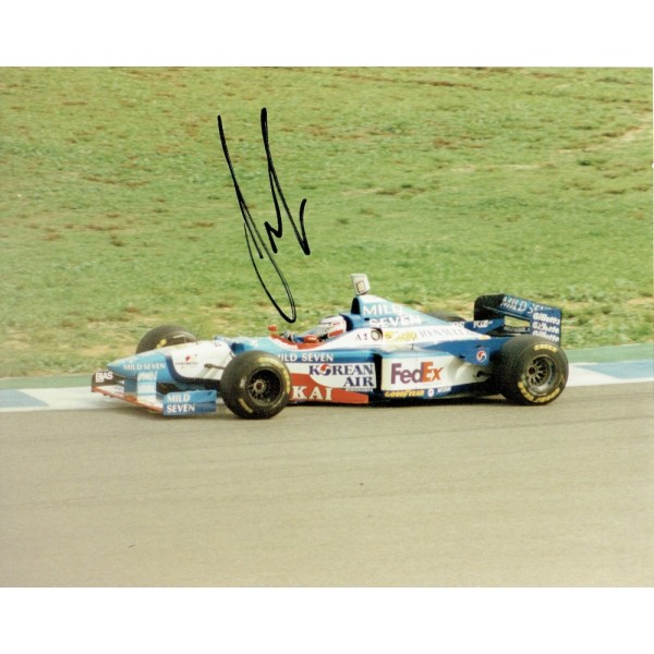 Gerhard Berger genuine original authentic signed autograph photo