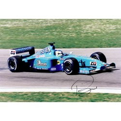 Giancarlo Fisichella genuine original authentic signed autograph photo