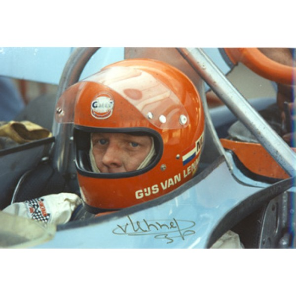 Gijs Van Lennep  genuine signed authentic autograph photo