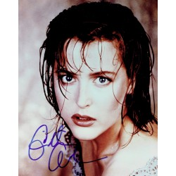 Gillian Anderson  original authentic genuine autograph signed photo