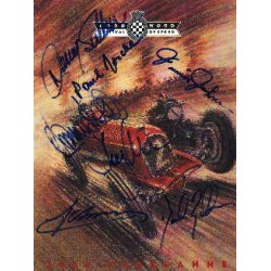 Goodwood Festival of Speed Programme genuine original authentic signed autograph