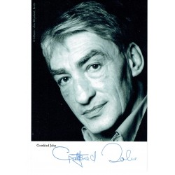 Gottfried John  original authentic genuine autograph signed photo
