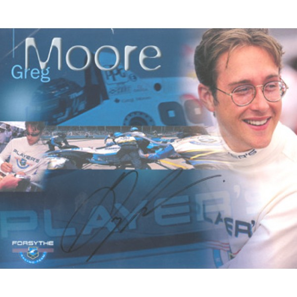 Greg Moore  genuine signed original autograph photo