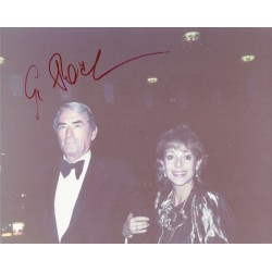 Gregory Peck  original authentic genuine autograph signed photo