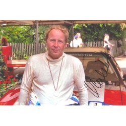 Hannu Mikkola genuine original authentic signed autograph photo