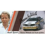 Hannu Mikkola  genuine signed authentic autograph photo