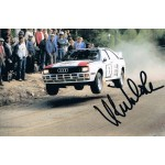 Hannu Mikola original authentic genuine signed photo