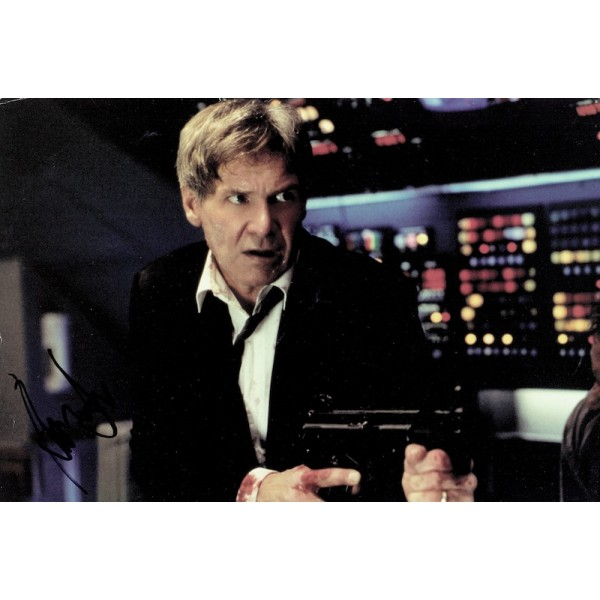 Harrison Ford original authentic genuine signed photo