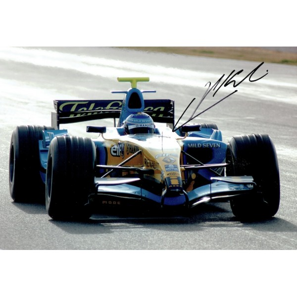 Heikki Kovalainen genuine original authentic signed autograph photo