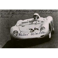 Heini Walter genuine signed original autograph photo