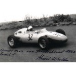 Heini Walter  original authentic genuine signed autograph photo