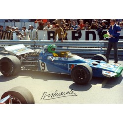 Henri Pescarolo  genuine signed original autograph photo